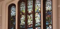 永きにわたって人々を見守ってきたラーハウザー記念東北学院礼拝堂のステンドグラス『昇天』の調査報告